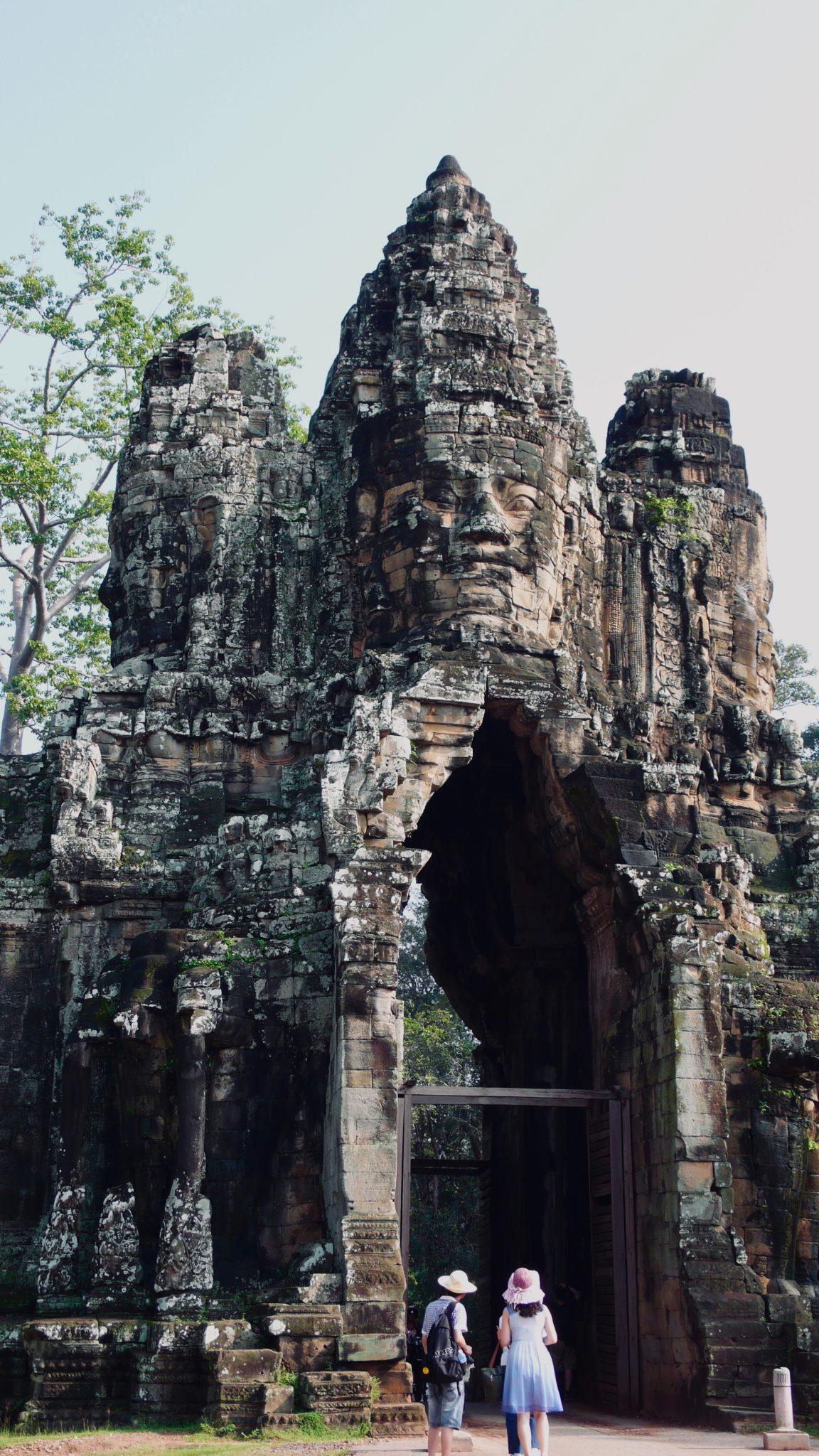 Les temples d'Angkor victime du surtourisme