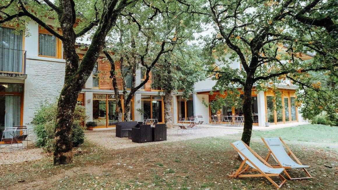 Les Esclargies hotel le jardin